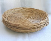 Rattan Paper Plate Holders Set of Four