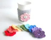 Flower Cozy with 4 interchangeable flowers by The Cozy Project