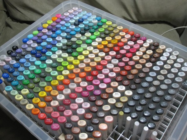Copic Marker Storage Box Sketch Markers Holds Fargets