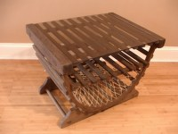 Lobster Trap Table Side Table Coffee Table by SmartSquirrel