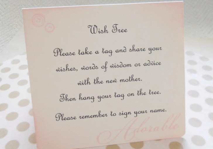 Baby Shower Invite Ideas Wishes Book Wording For A Creative Wish Jar