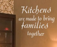 Kitchens Made Bring Families Together Dining Room Mom Family