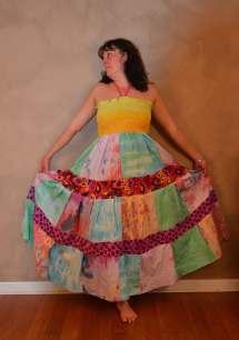 Hippie Patchwork Dresses