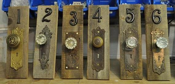 Items similar to CUSTOM Rustic vintage antique door knob