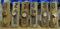 Items similar to CUSTOM Rustic vintage antique door knob ...