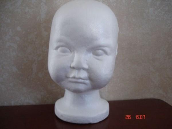 Mannequin Toddler Child Display Styrofoam Head