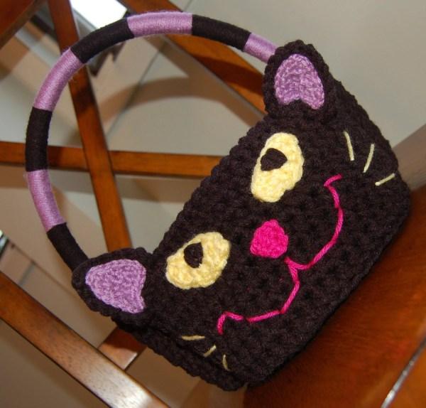 Crochet Pattern Meow Black Cat Halloween