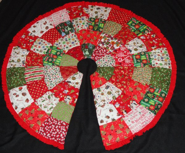 Christmas Tree Skirt Pattern Elainescatterbrain
