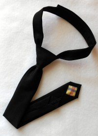 Black Skinny Tie Infant Toddler Boys by kellybowbelly on Etsy