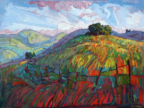 Paso Robles California Impressionist Landscape Original Oil