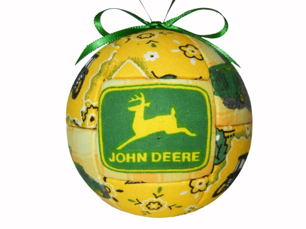 John Deere Handmade Christmas Ornament Kid Craftcrazy4u