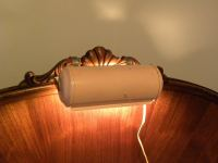 Vintage 1960's Bed Headboard Reading light Retro by ...