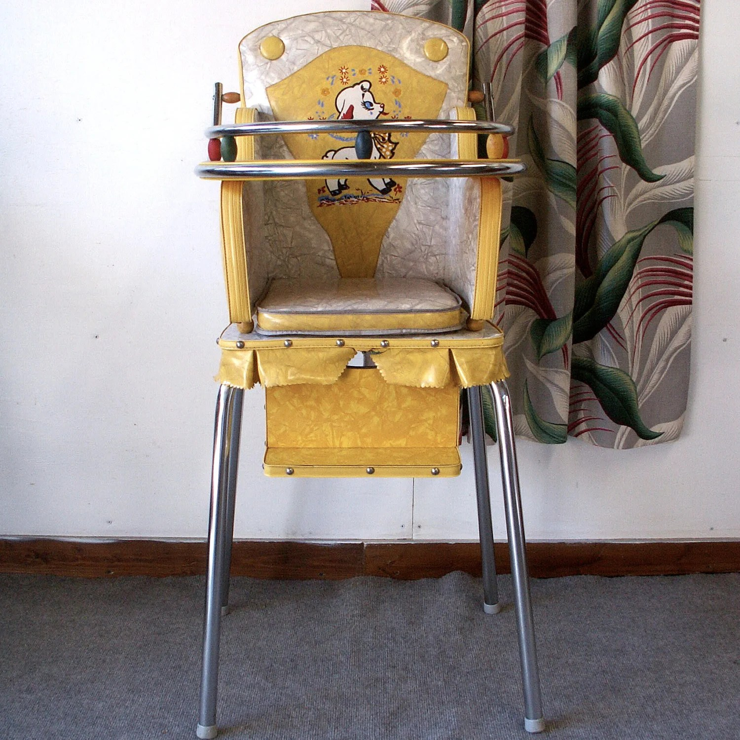 Baby High Chair Vintage Baby High Chair