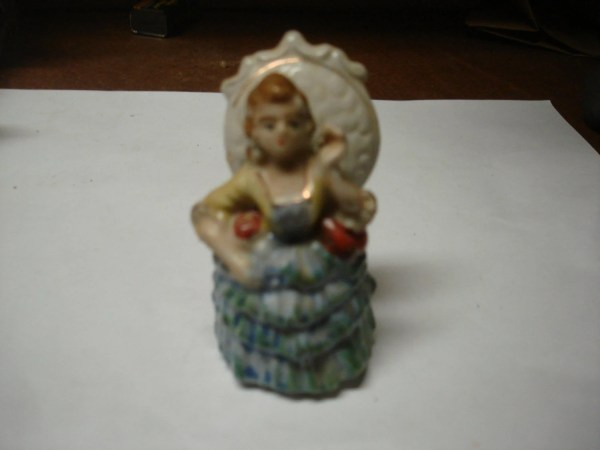 Vintage In Occupied Japan Porcelain Figurine Lady