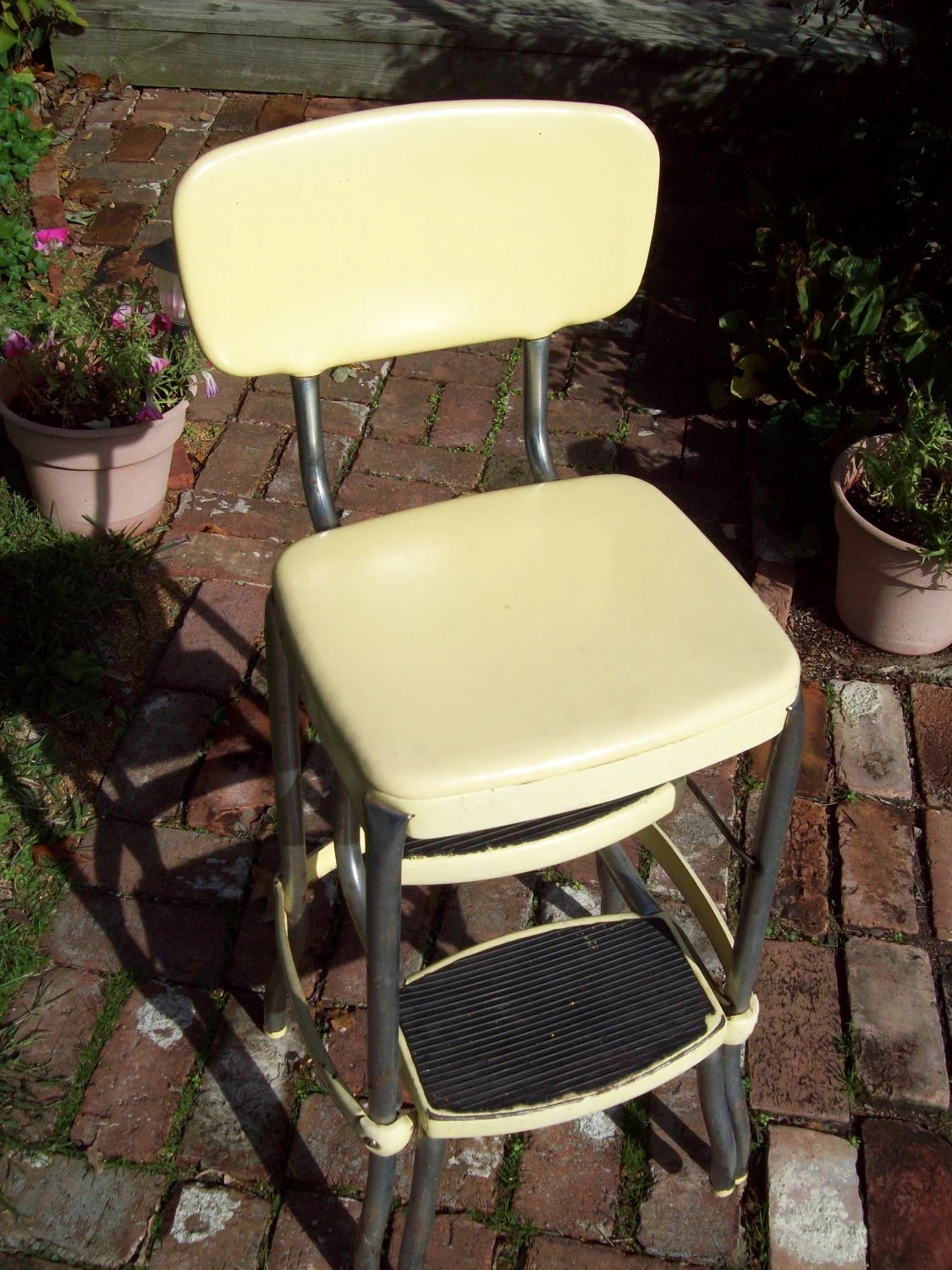 vintage cosco step stool chair covers to buy cape town by thevrose on etsy