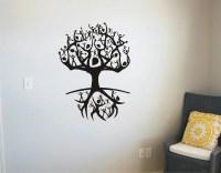Tree Of Life People Vinyl Decal Wall Sticker Wall Tattoo