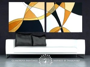 Items Similar To Geometric Art SERENITY. Large Abstract