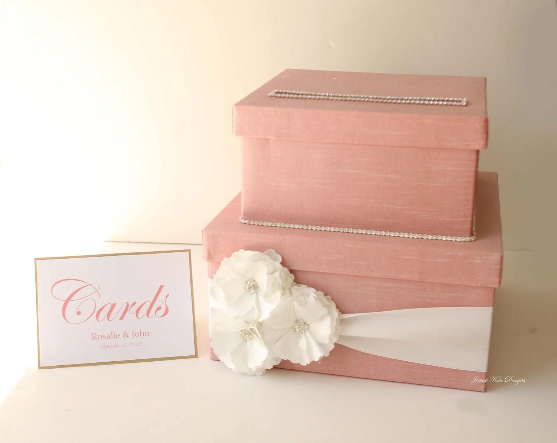 Wedding Card Box Money Box Gift Card Box Custom Card Box