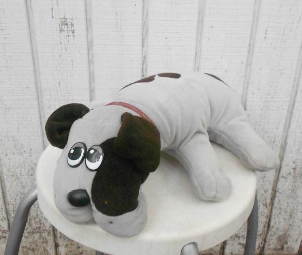 Pound Puppy Vintage 80' Toy Dog Stuffed Animal Large