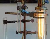 Vintage Chemistry Lab Lamp - Californiarediscover