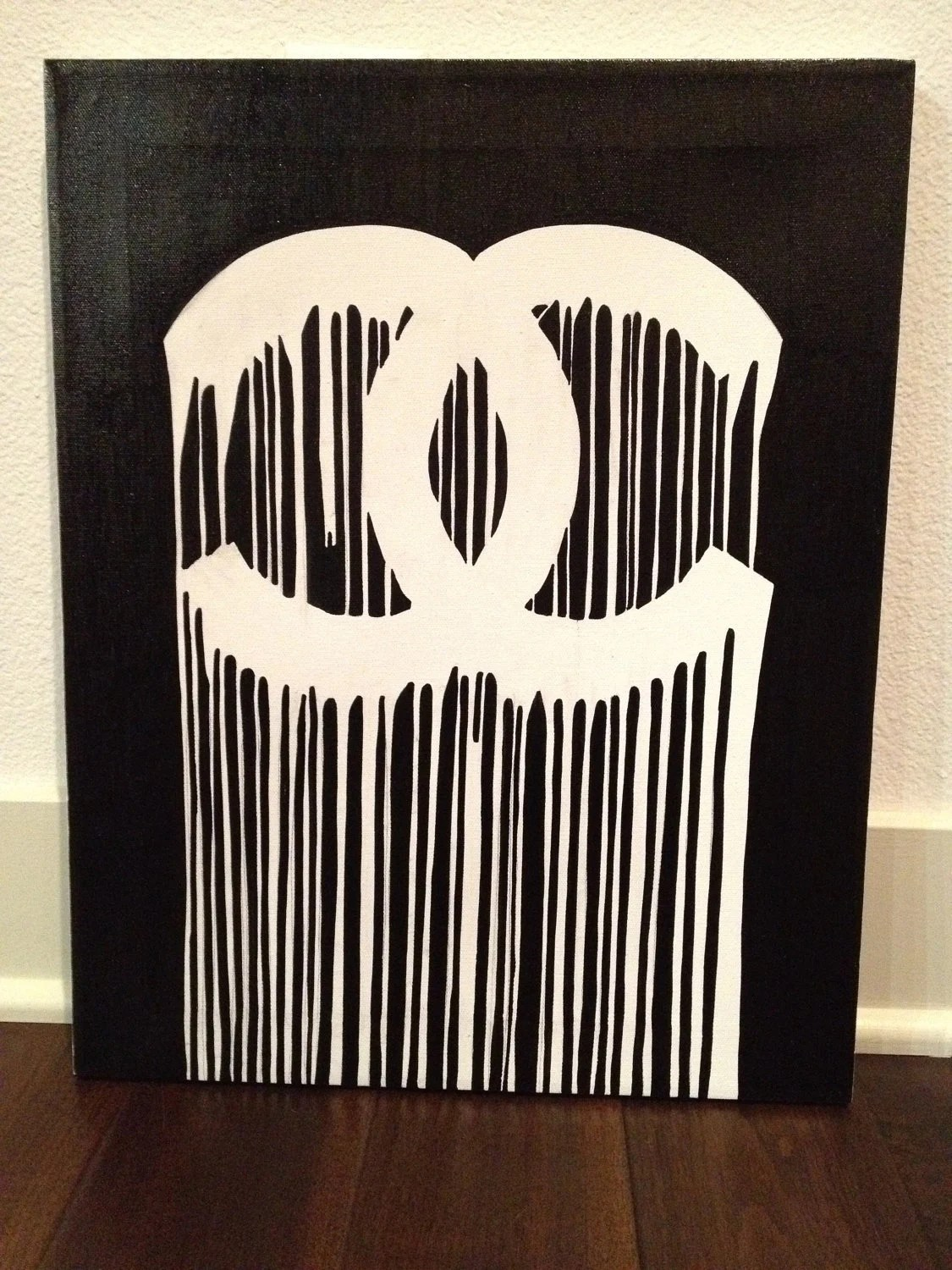 RIP Coco Chanel Painting