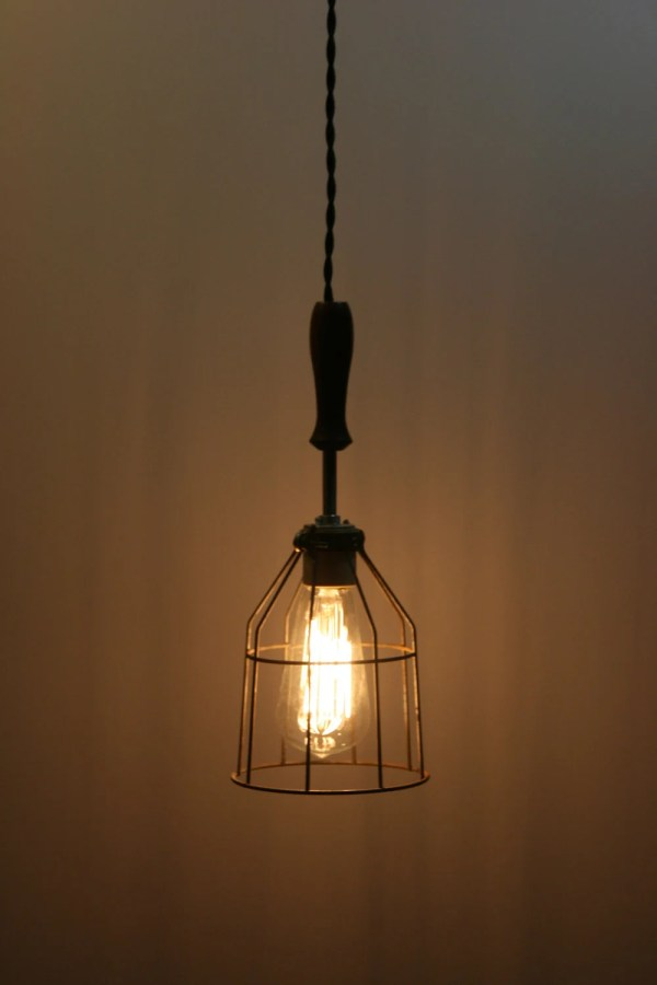 Hanging Industrial Pendant Light