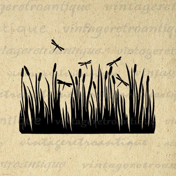 dragonflies printable graphic