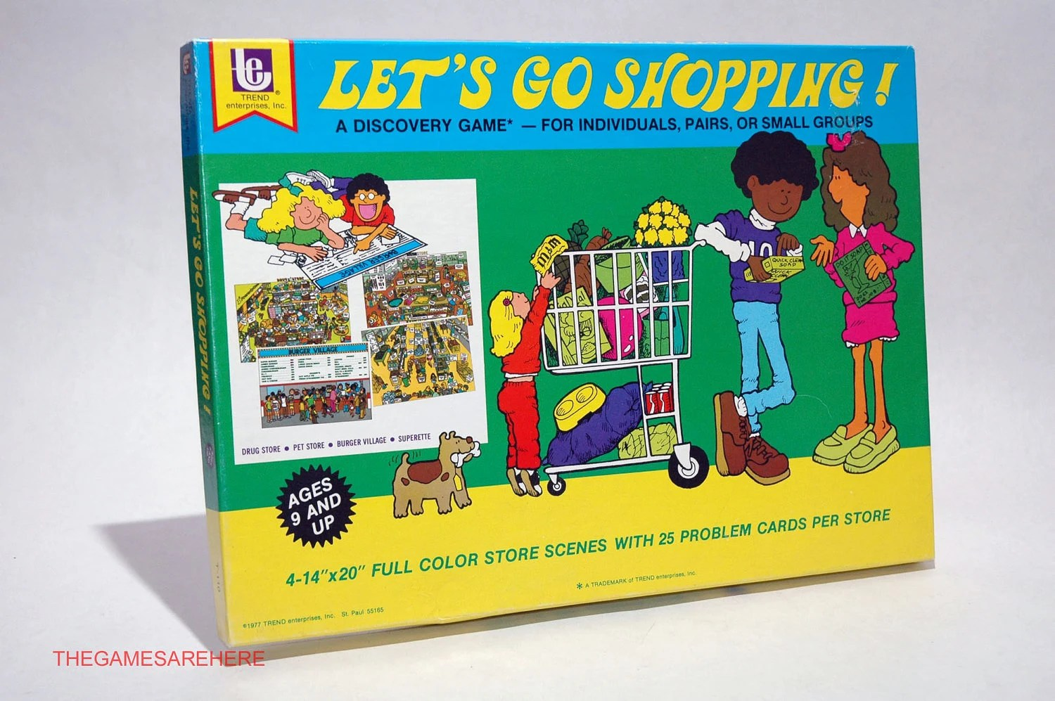 Let S Go Shopping Educational Game From Trend