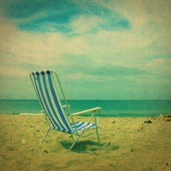 Antique Beach Chair Ikea Breakfast Table And Chairs Vintage At The Ocean Retro Photo 8 By