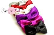 glitter bows choose 5.hair bow.bow.diy