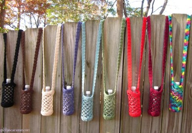 Paracord Water Bottle Holder Diy How To Make Instructions