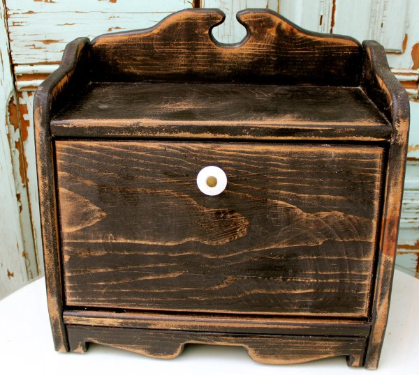 Kitchen Bread Boxes Wooden
