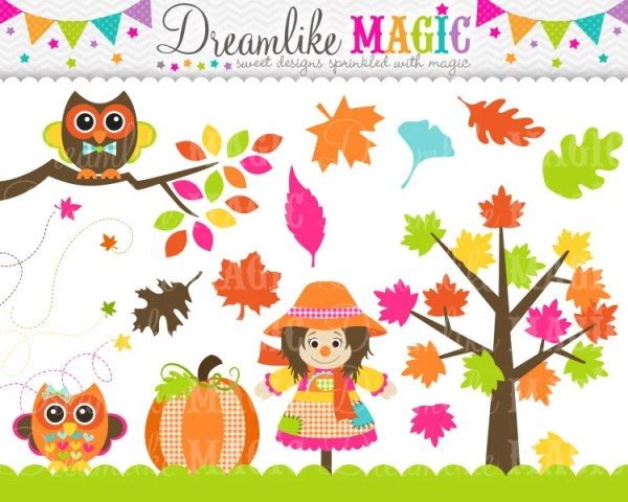 sweet festive fall clipart