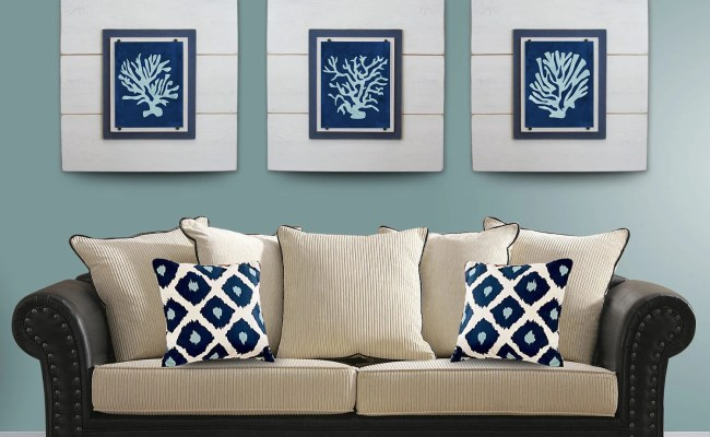Sale Coral Wall Art Set Of 3 White Framed 8x10 Xtra