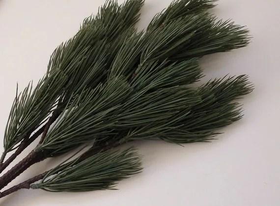 Artificial Long Needle Pine Bough Artificial Greenery