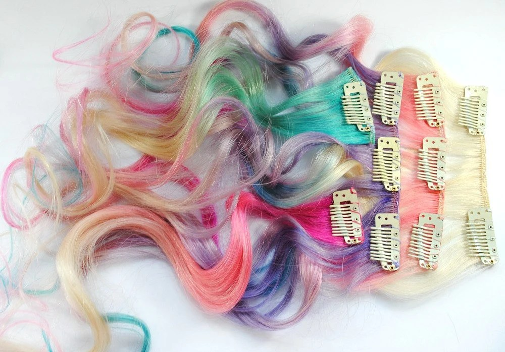 Pretty Pony My Little Pony Ombre Pastel Set Human Hair