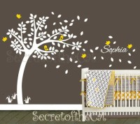 Nursery Wall Decal. Wall Decals Nursery. Nursery Decal. Tree