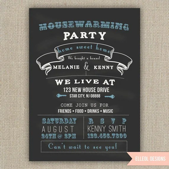 Items Similar To Housewarming Party Invitation