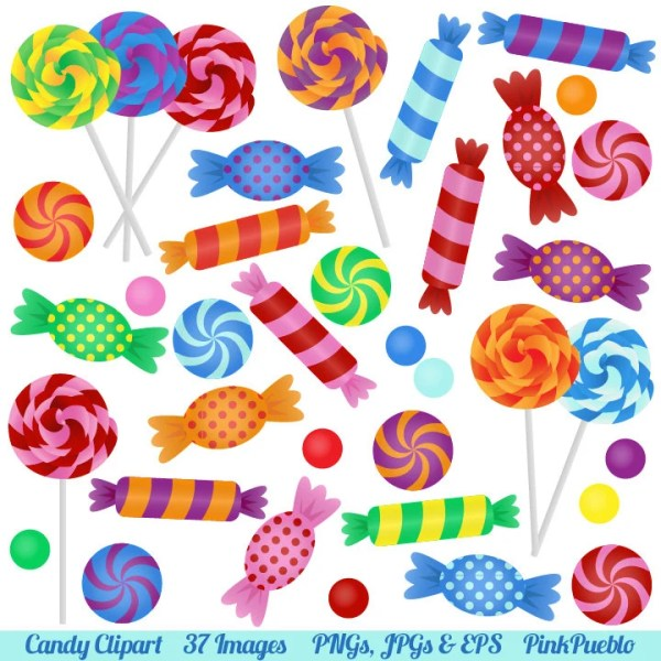 candy clipart clip art with lollipops