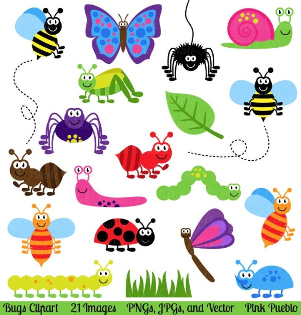 bugs clipart clip art insects