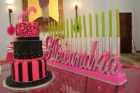 Sweet 16 Bat Mitzvah Candle Lighting Board Quinceanera Custom