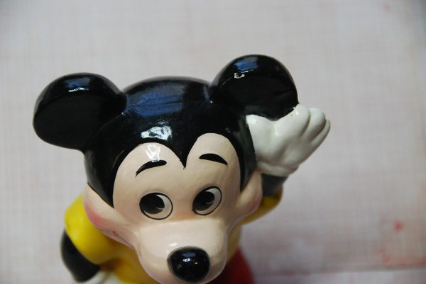 Vintage Mickey Mouse Bank Of Composite