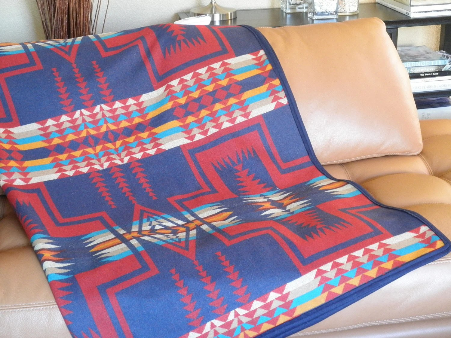 Pendleton blanket Native American reversible Navajo