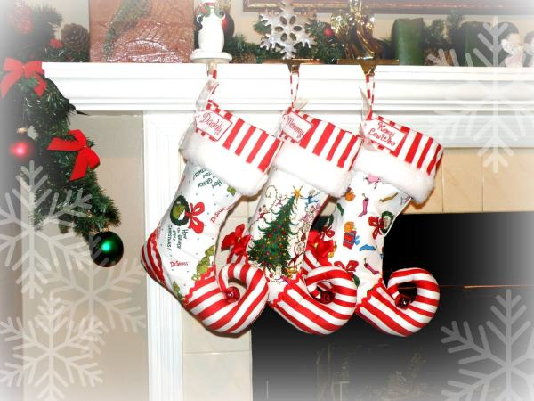 Personalized Christmas Stocking Elf Sugarplumfaire