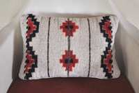 Vintage Native American Print Pillow