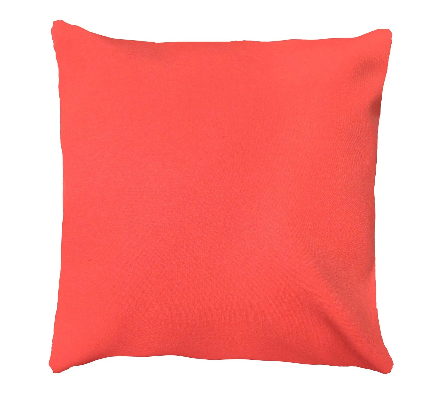 Coral Throw Pillow Cover Pillow Cover Coral Solid Pillow