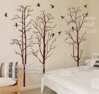 Tree wall decal Nursery wall sticker Branch vinyl wall by cuma