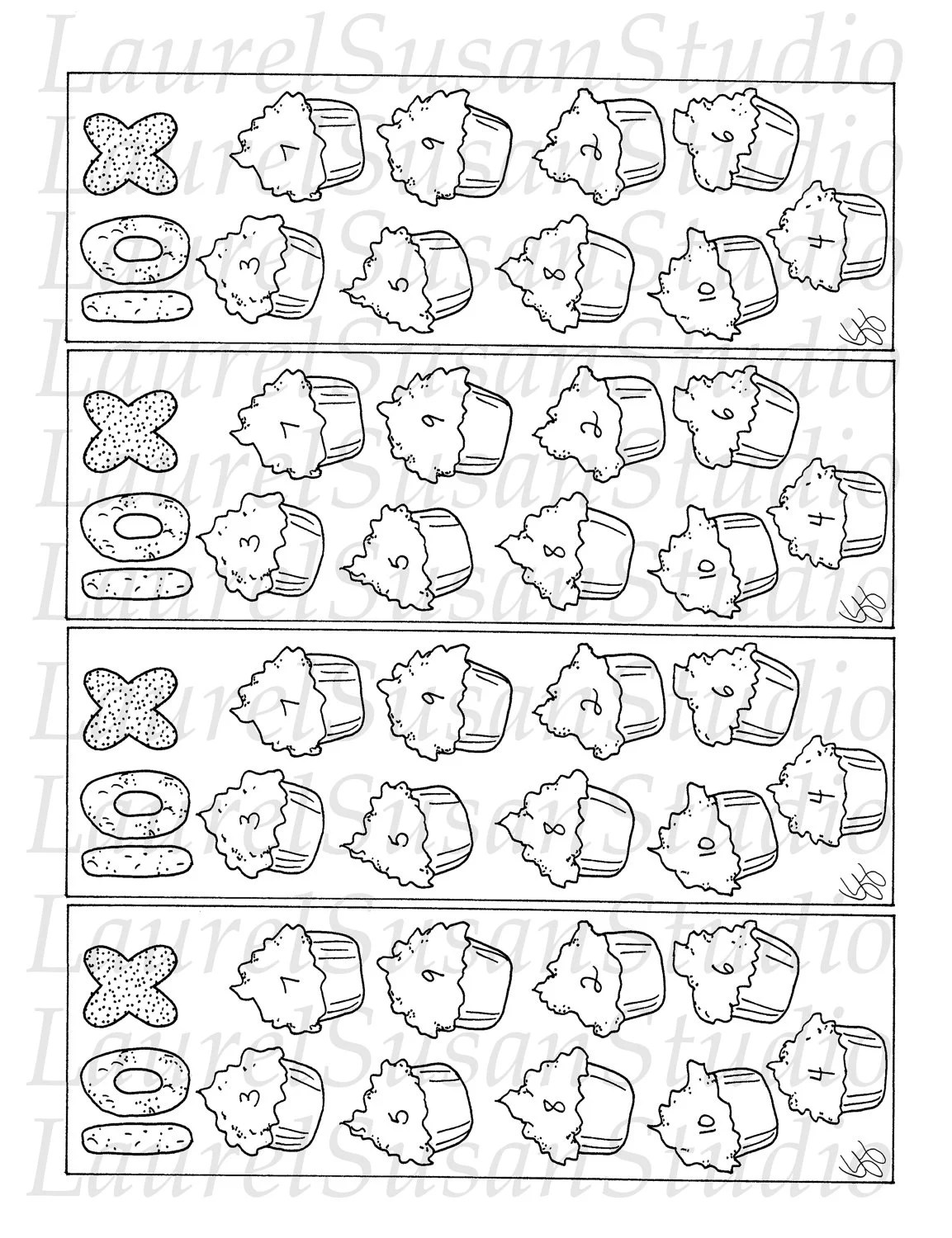 Items similar to Multiplication Ten Tables Coloring Page