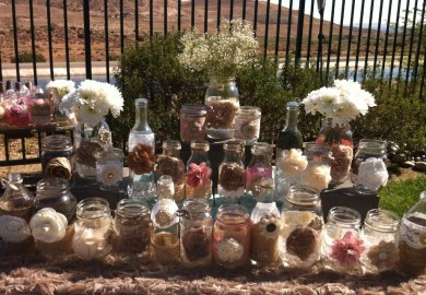Burlap Wedding Table Decorations