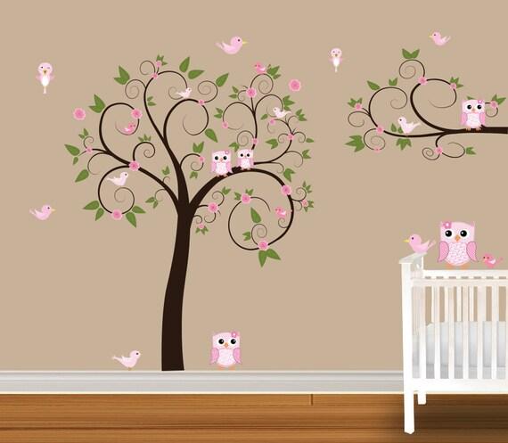 Girls Nursery Wall Stickers